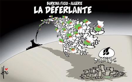 Burkina Faso-Algérie: La déferlante