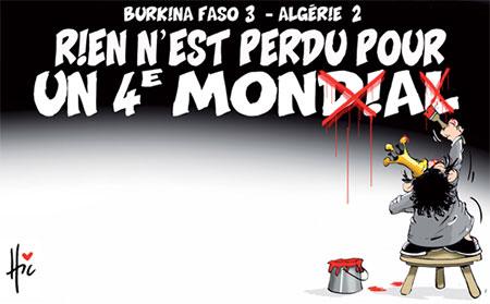 Burkina Faso 3 – Algérie 2