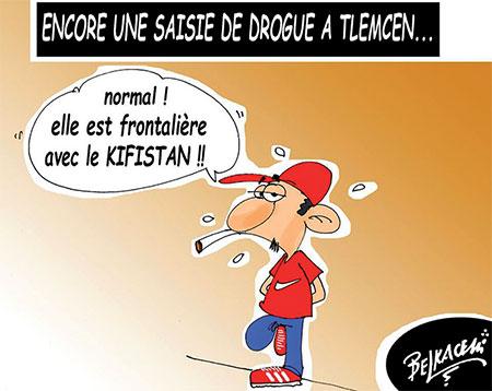 Encore une saisie de drogue à Tlemcen - Belkacem - Le Courrier d'Algérie - Gagdz.com