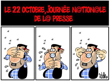 Journée nationale de la presse : les médias algériens sous tension