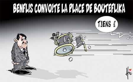 Benflis convoite la place de Bouteflika - Dessins et Caricatures, Le Hic - El Watan - Gagdz.com