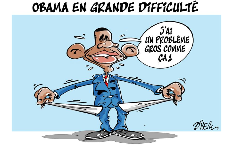 Obama en grand difficulté