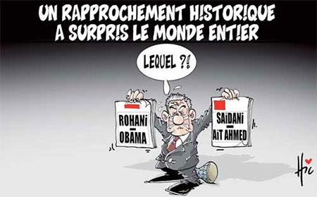 Un rapprochement historique a surpris le monde entier - Dessins et Caricatures, Le Hic - El Watan - Gagdz.com
