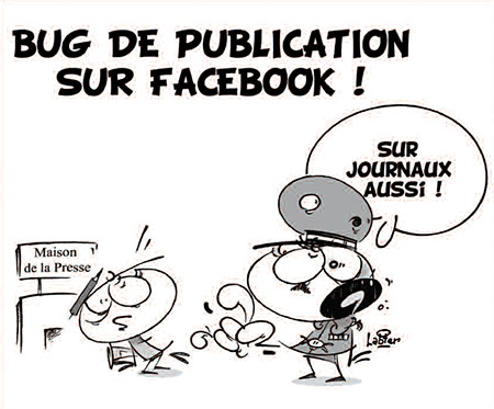 Bug de publication sur Facebook