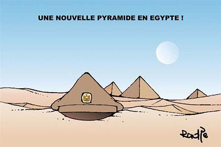 Une nouvelle pyramide en Egypte - Ghir Hak - Les Débats - Gagdz.com