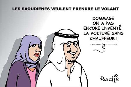 Les Saoudiènnes veulent prendre le volant - Ghir Hak - Les Débats - Gagdz.com