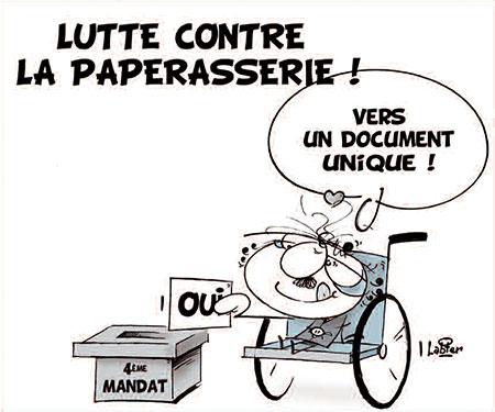 Lutte contre la paperasserie - Vitamine - Le Soir d'Algérie - Gagdz.com