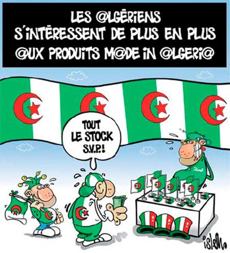Les Algériens s'intéressent de plus en plus aux produits made in Algeria - Islem - Le Temps d'Algérie - Gagdz.com