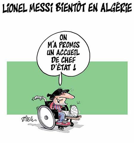 Lionel Messi bientôt en Algérie - Dilem - Liberté - Gagdz.com