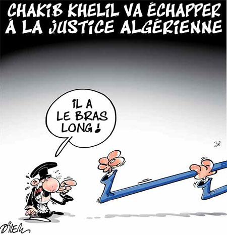 Chakib Khelil va échapper à la justice algérienne - Dilem - Liberté - Gagdz.com