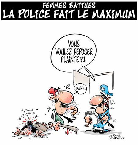 Femmes battues: La police fait le maximum - Dilem - Liberté - Gagdz.com