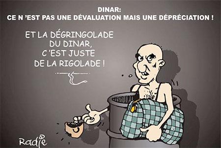 Dinar: Ce n'est pas une dévaluation mais une dépréciation - Ghir Hak - Les Débats - Gagdz.com