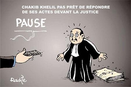 Chakib Khelil pas prêt de répondre de ses actes devant la justice