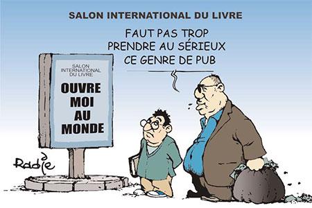 Salon international du livre - Ghir Hak - Les Débats - Gagdz.com