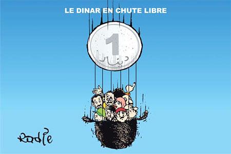 Le dinar en chute libre - Ghir Hak - Les Débats - Gagdz.com