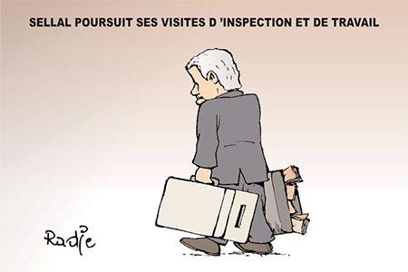 Sellal Poursuit ses visites d'inspection et de travail - Ghir Hak - Les Débats - Gagdz.com