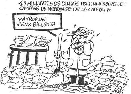 10 milliards de dinars pour une nouvelle campagne de nettoyage de la capitale - Hawari - La Tribune des Lecteurs - Gagdz.com