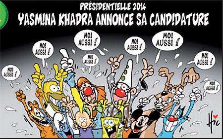 Yasmina Khadra annocera sa candidature - Le Hic - El Watan - Gagdz.com