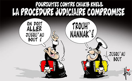Poursuites contre Chakib Khelil: La procédure judiciare compromise - Le Hic - El Watan - Gagdz.com