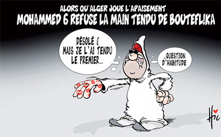 Mohammed 6 refuse la main tendu de Bouteflika - Le Hic - El Watan - Gagdz.com