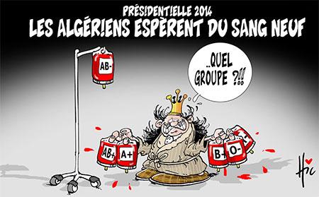 Présidentielle 2014: Les Algériens espèrent du sang neuf - Le Hic - El Watan - Gagdz.com