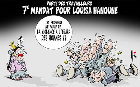 7e mandat pour Louisa Hanoune - Le Hic - El Watan - Gagdz.com