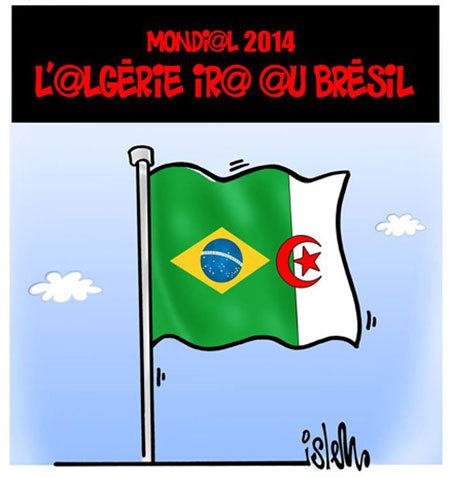Mondial 2014: L'Algérie ira au Brésil