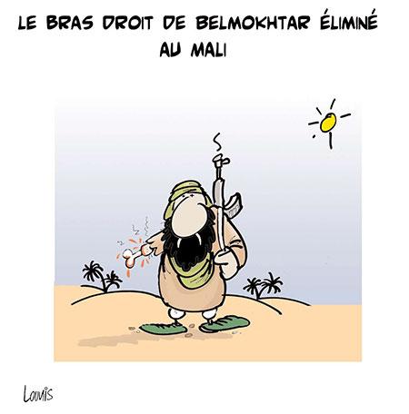 Le bras droit de Belmokhtar éliminé au Mali - Lounis Le jour d'Algérie - Gagdz.com