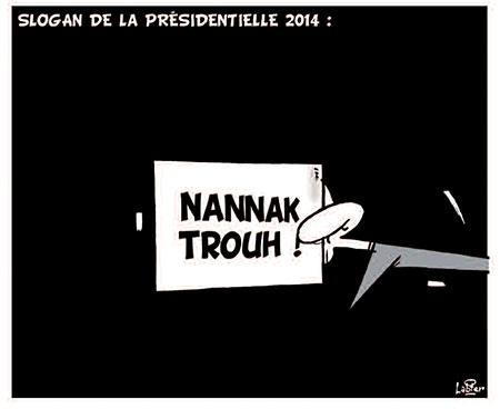 Slogan de la présidentielle 2014 - Vitamine - Le Soir d'Algérie - Gagdz.com
