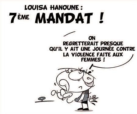 Louisa Hanoune: 7ème mandat - Vitamine - Le Soir d'Algérie - Gagdz.com
