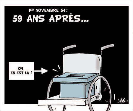 1er novembre 54: 59 ans après