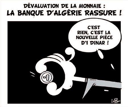 Dévaluation de la monnaie: La banque d'Algérie rassure - Vitamine - Le Soir d'Algérie - Gagdz.com