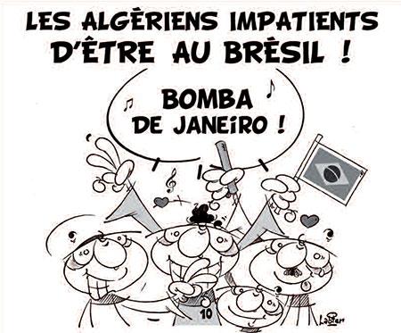 Les Algériens impatients d'être au Brésil - Vitamine - Le Soir d'Algérie - Gagdz.com