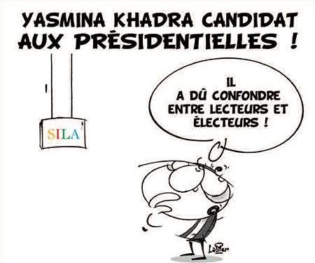 Yasmina Khadra candidat aux présidentielles - Vitamine - Le Soir d'Algérie - Gagdz.com