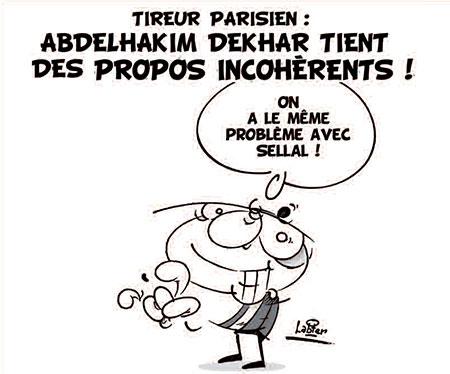 Tireur parisien: Abdelhakim Dekhar tient des propos incohérents - Vitamine - Le Soir d'Algérie - Gagdz.com