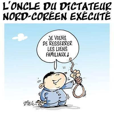 L'oncle du dictateur Nord-Coréen exécuté - Dilem - TV5 - Gagdz.com