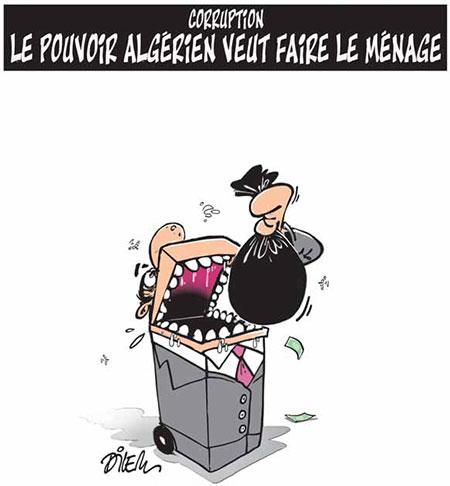 Corruption: Le pouvoir algérien veut faire le ménage - Dilem - Liberté - Gagdz.com