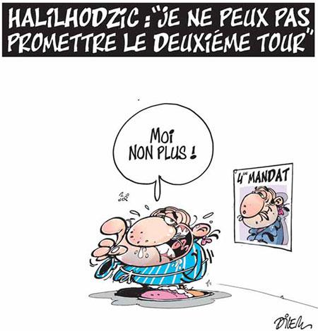 Halilhodzic: Je ne peux pas promettre le deuxième tour - Dilem - Liberté - Gagdz.com