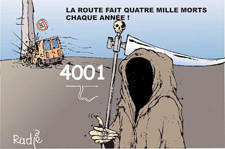 La route fait quatre mille morts chaque année - Ghir Hak - Les Débats - Gagdz.com