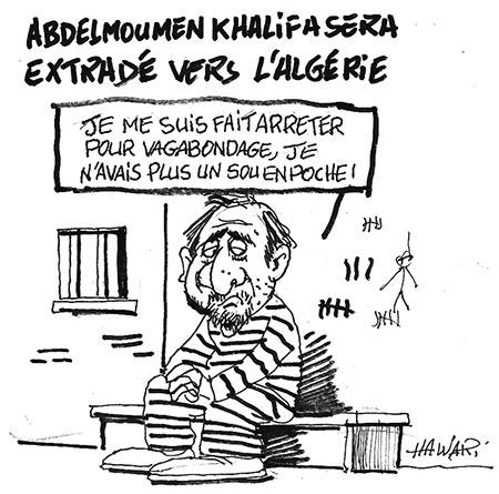 Abdelmoumen Khalifa sera extradé vers l'Algérie - Ghir Hak - Les Débats - Gagdz.com