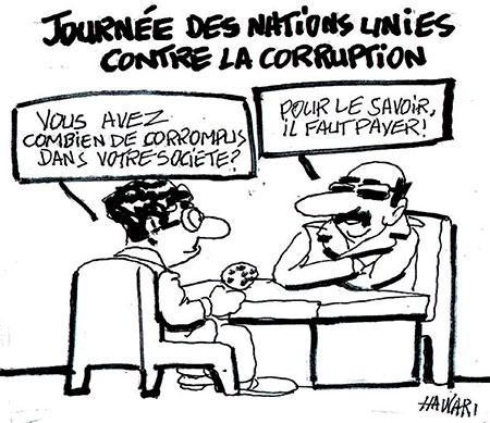 Journée des nations unies contre la corruption - Hawari - La Tribune des Lecteurs - Gagdz.com