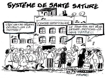 Système de santé saturé - Hawari - La Tribune des Lecteurs - Gagdz.com