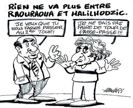 Rien ne va plus entre Raouraoua et Halilhodzic - Hawari - La Tribune des Lecteurs - Gagdz.com
