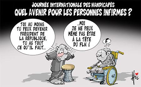 Quel avenir pour les personnes infirmes - Le Hic - El Watan - Gagdz.com