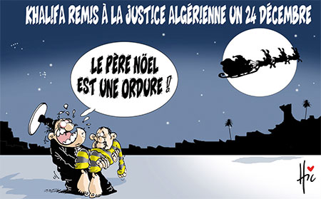 Khalifa remis à la justice algérienne un 24 décembre - Le Hic - El Watan - Gagdz.com