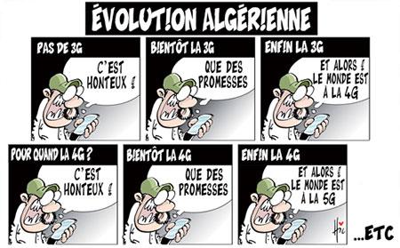 Evolution algérienne