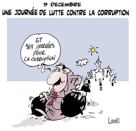 9 décembre: Une journée de lutte contre la corruption - Lounis Le jour d'Algérie - Gagdz.com