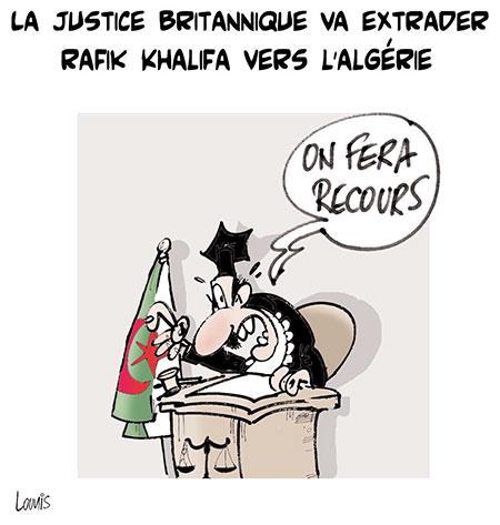 La justice britanique va extrader Rafik Khalifa vers l'Algérie - Lounis Le jour d'Algérie - Gagdz.com