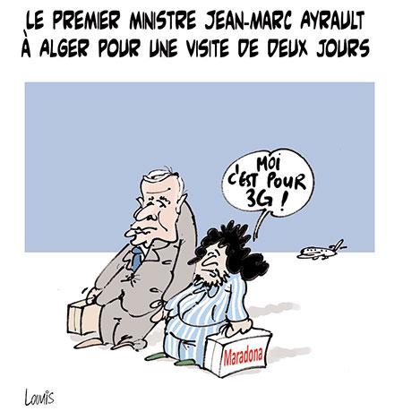 Le premier ministre Jean-Marc Ayrault à Alger - Lounis Le jour d'Algérie - Gagdz.com