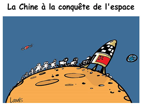 La Chine à la conquête de l'espace - Lounis Le jour d'Algérie - Gagdz.com